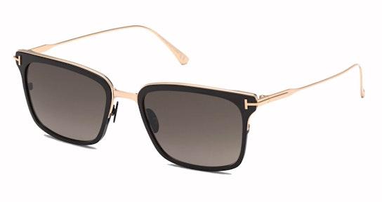 Lee FT 831 (01K) Sunglasses Grey / Black