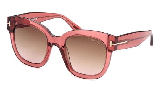 Ani FT 613 (74F) Sunglasses Brown / Pink