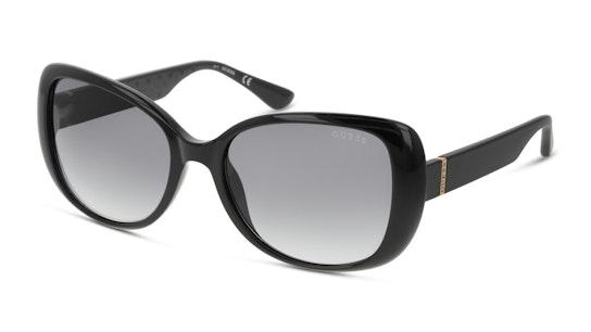 GU 7767 (01B) Sunglasses Grey / Black