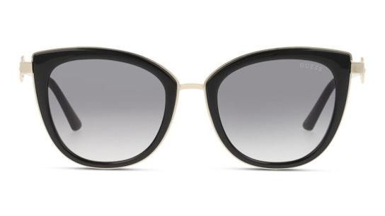 GU 7768 (01B) Sunglasses Grey / Black