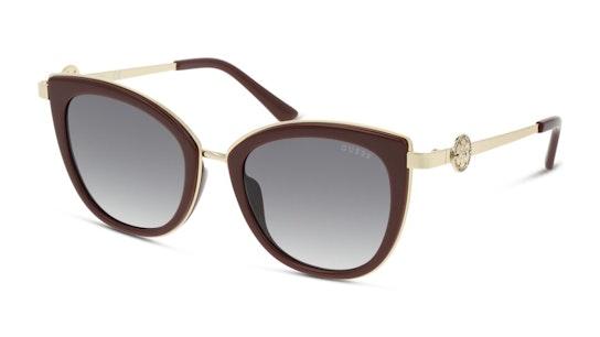 GU 7768 (69B) Sunglasses Grey / Burgundy
