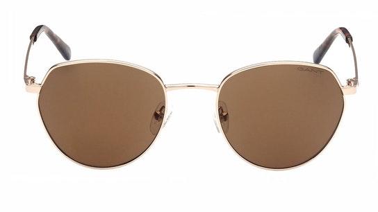 GA 7109 (32E) Sunglasses Brown / Gold