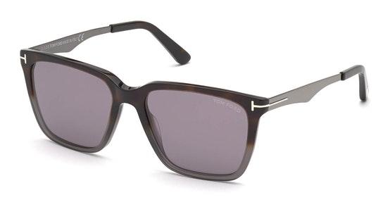Garrett FT 862 (56C) Sunglasses Grey / Havana