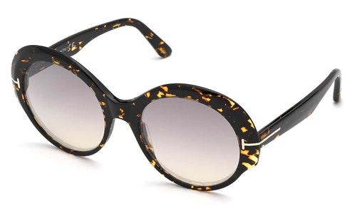 Ginger FT 873 (52C) Sunglasses Grey / Havana
