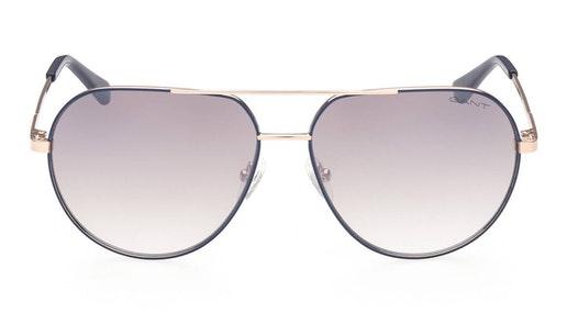 GA 7206 (32F) Sunglasses Brown / Gold