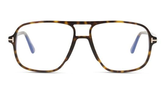 FT 5737-B (052) Glasses Transparent / Tortoise Shell
