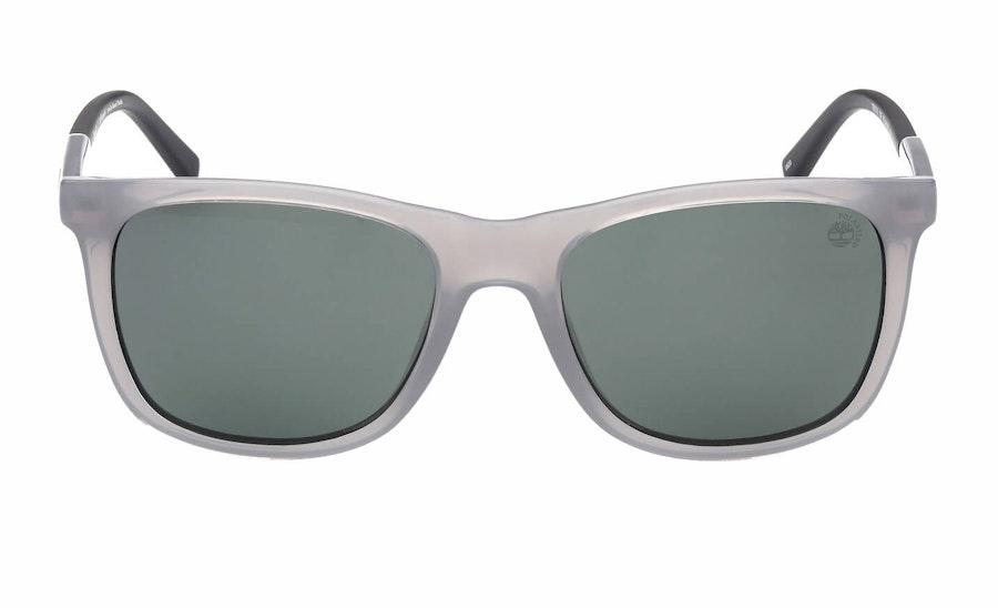 Timberland TB 9255 (20R) Sunglasses Green / Grey