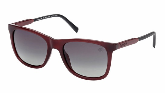 TB 9255 (69R) Sunglasses Green / Burgundy