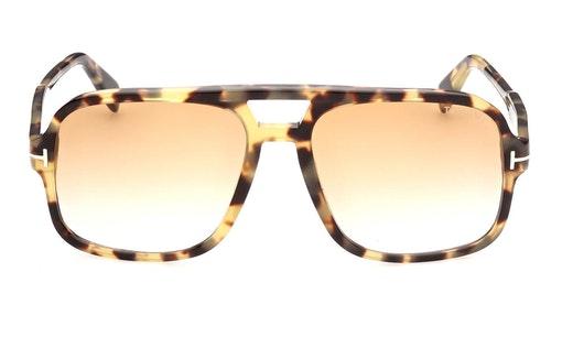 Falconer-02 FT 884 (56F) Sunglasses Brown / Havana