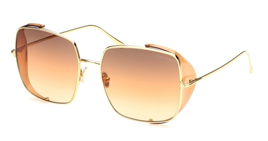Toby-02 FT 901 (30F) Sunglasses Brown / Gold