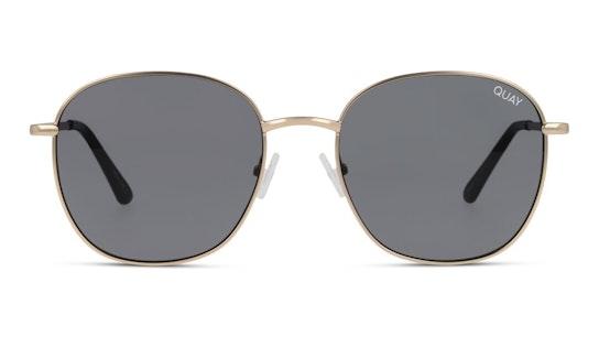 Jezabell QW-000262 (GLD/SMK) Sunglasses Grey / Gold