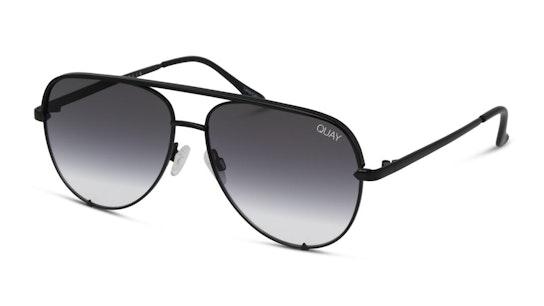 High Key Mini QC-000268 Unisex Sunglasses Grey / Black