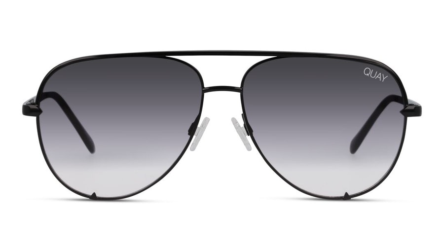 Quay High Key Mini QC-000268 Unisex Sunglasses Grey / Black