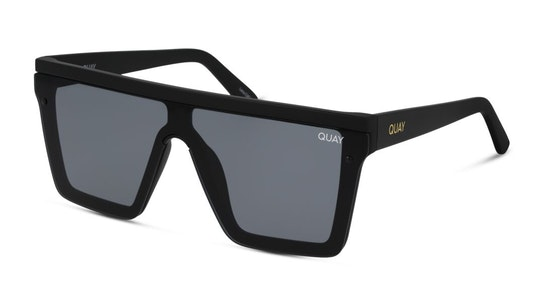 Hindsight QW-000311 (BLK/SMK) Sunglasses Grey / Black