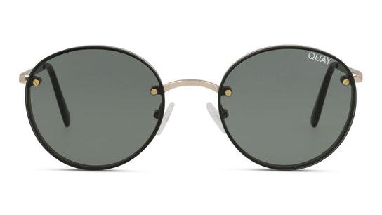 Farrah QW-000399 (GLD/GRN) Sunglasses Green / Gold
