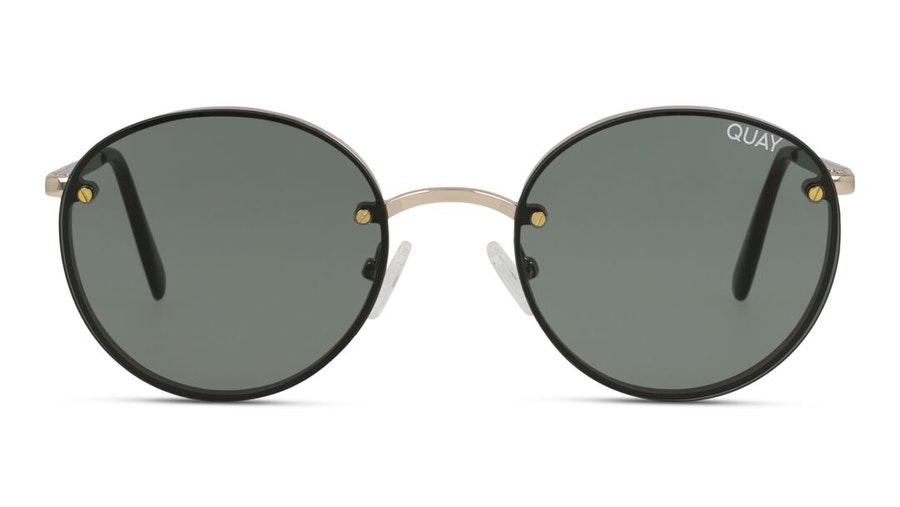 Quay Farrah QW-000399 Women's Sunglasses Green / Gold
