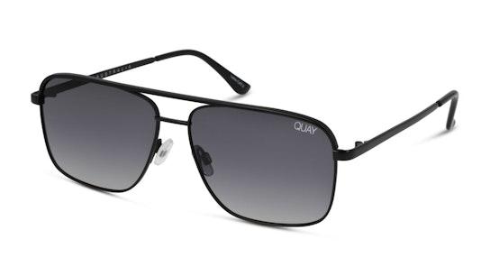 Poster Boy QM-000494 (BLK/SMKFD) Sunglasses Grey / Black