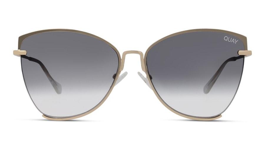 Quay Dusk to Dawn QW-000412 (GLD/SMK) Sunglasses Grey / Gold