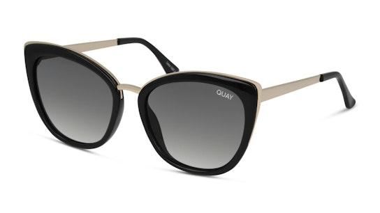 Honey QW-000544 (BLK/SMK) Sunglasses Grey / Black