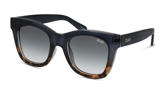 After Hours Oversized QU-000180 (NAVYTORT/S) Sunglasses Grey / Blue