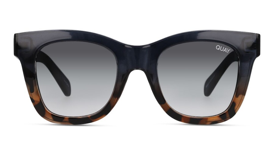 Quay After Hours Oversized QU-000180 (NAVYTORT/S) Sunglasses Grey / Blue