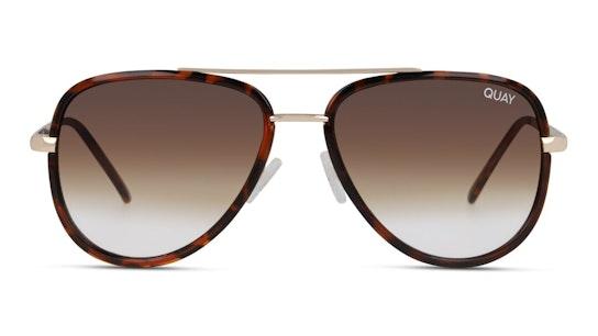 All In Mini QU-000607 Unisex Sunglasses Brown / Tortoise Shell