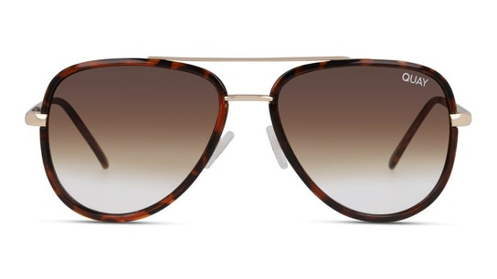 All In Mini QU-000607 (TORT/BRNFD) Sunglasses Brown / Tortoise Shell