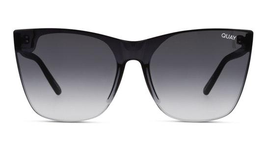 Come Thru QW-000609 (BLK/FADE) Sunglasses Grey / Black