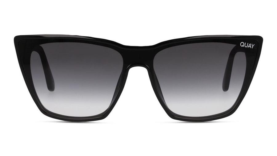 Quay On Point QW-000871 Women's Sunglasses Grey / Black