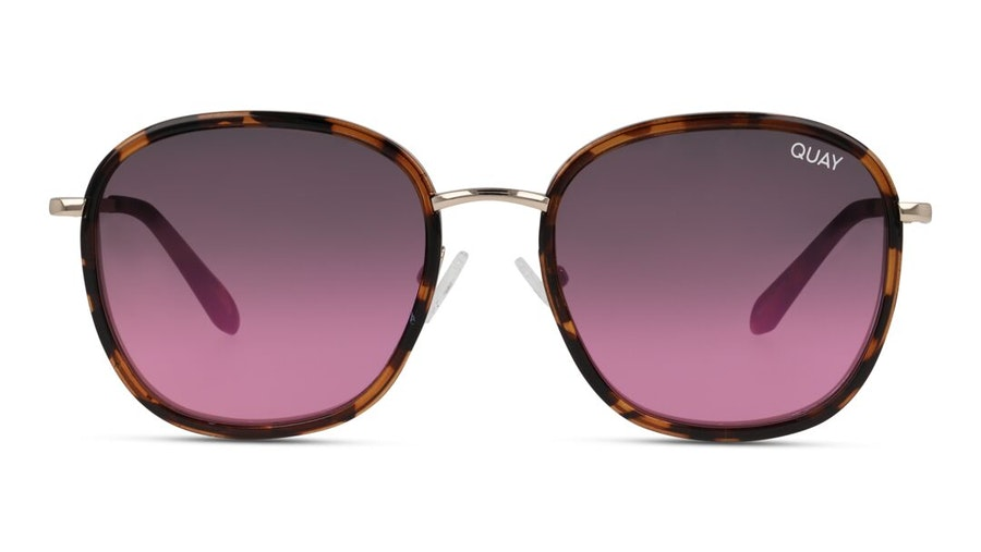 Quay Jezabell Inlay QW-000875 Women's Sunglasses Pink / Tortoise Shell