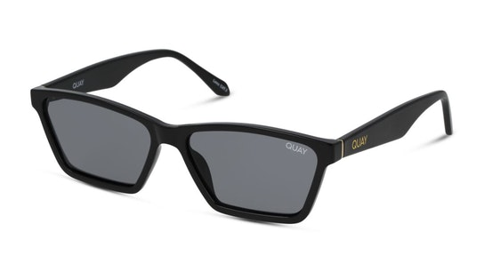 Club Kid QW-000879 (BLK/SMK) Sunglasses Grey / Black