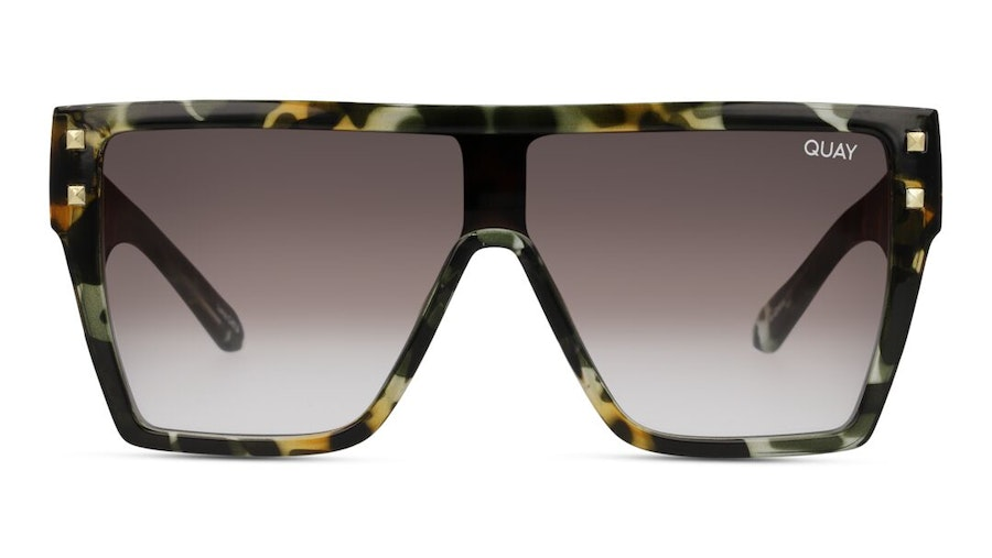 Quay Maxed Out QU-000891 Unisex Sunglasses Brown / Tortoise Shell