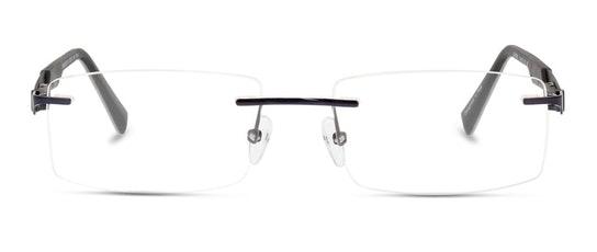 LF AM25 Men's Glasses Transparent / Black