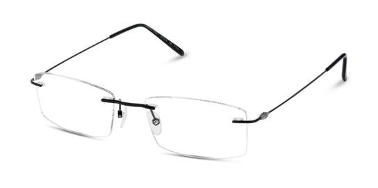 LF BM21 Men's Glasses Transparent / Shiny Black