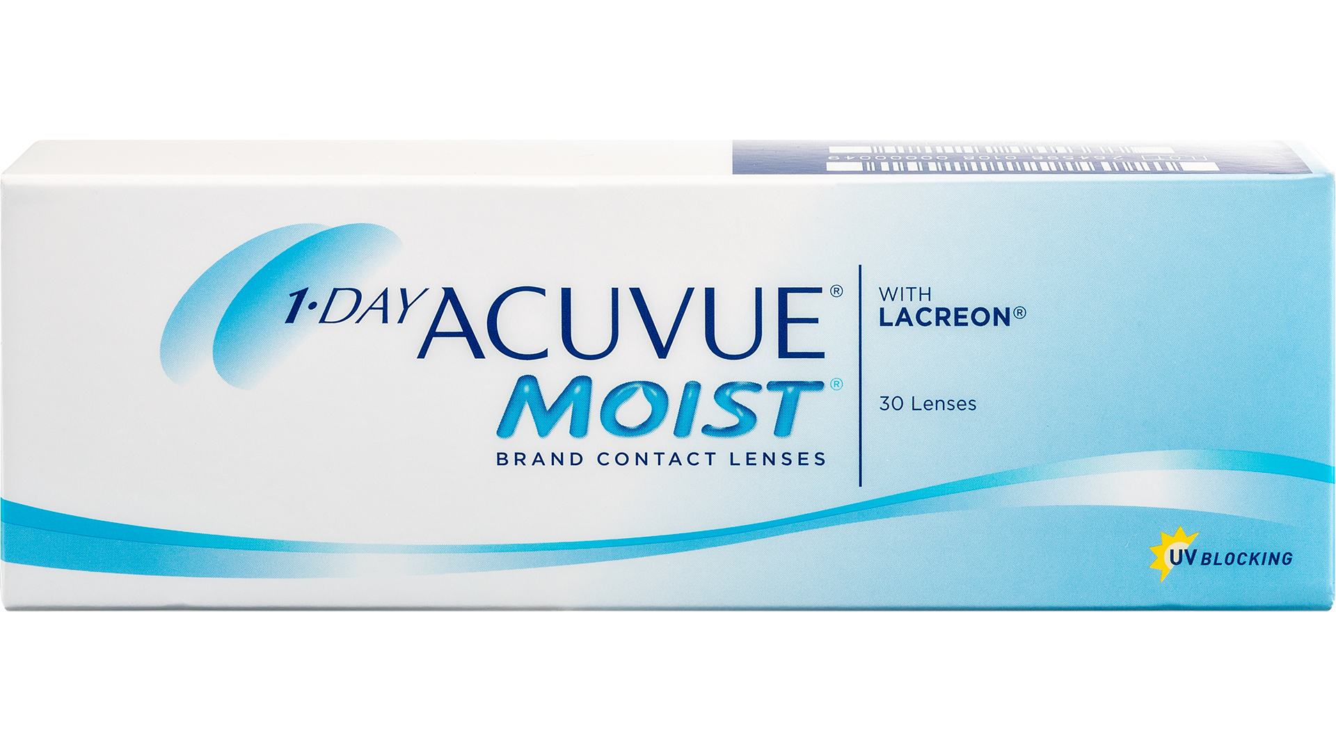 Front 1-Day Acuvue Moist
