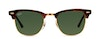 Ray-Ban CLUBMASTER RB3016 W0366-51/21 Verde/Tartaruga,Oro