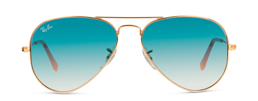 Ray-Ban AVIATOR LARGE METAL RB3025 001/3F-55/14 Blu/Oro