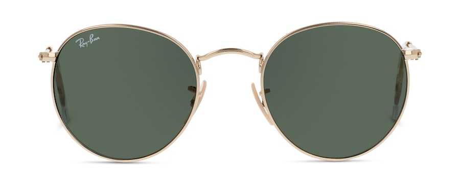 Ray-Ban ROUND METAL RB3447 1-50/21 Verde/Oro