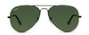 Ray-Ban AVIATOR LARGE METAL RB3025 L2823 Grigio/Nero