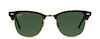 Ray-Ban CLUBMASTER RB3016 W0366-49/21 Verde/Tartaruga,Oro