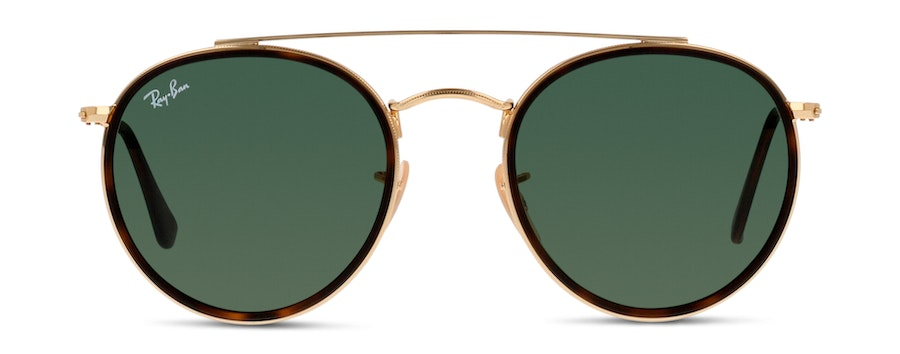 Ray-Ban ROUND DOUBLE BRIDGE RB3647N 1 Verde/Oro