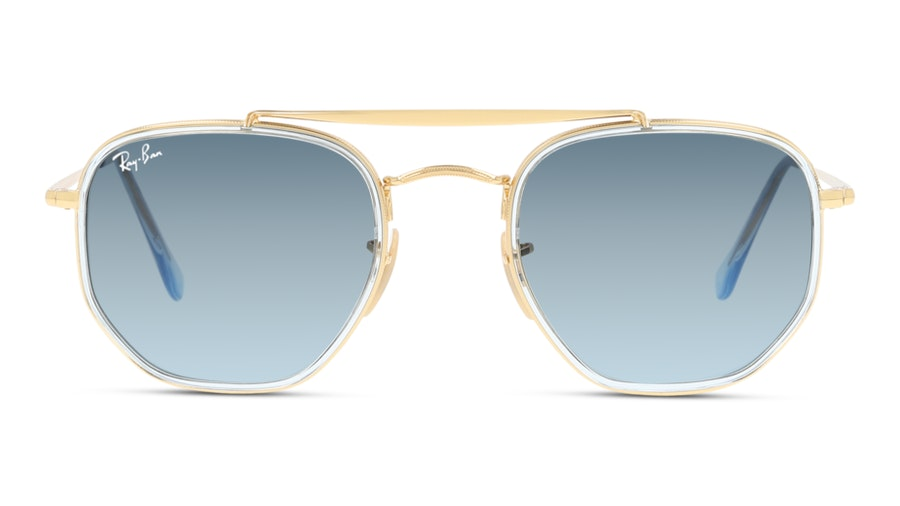 Ray-Ban THE MARSHAL RB3648M 91233M Blu/Oro,Trasparente