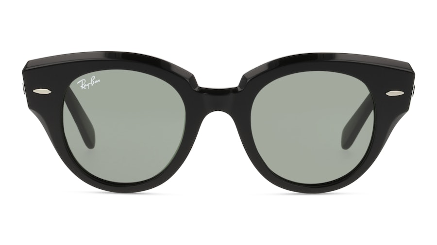 Ray-Ban ROUNDABOUT RB2192 901/31 Verde / Nero