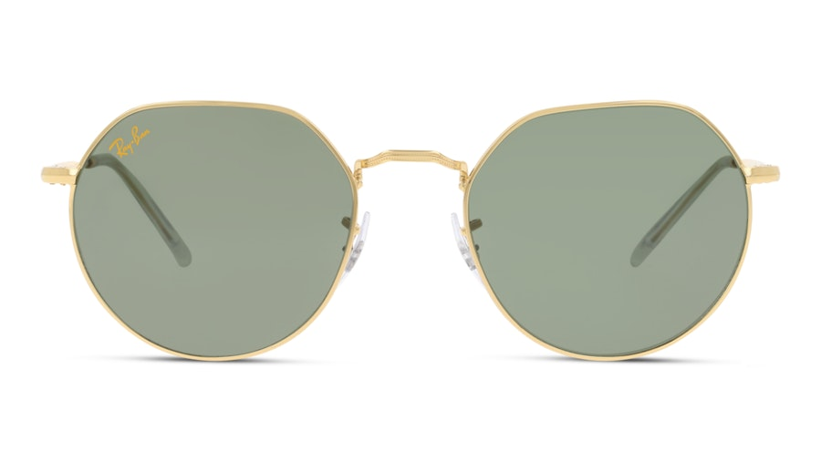 Ray-Ban JACK RB3565 919631 Verde / Oro