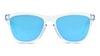 Oakley OO9013 9013D0 Blu/Trasparente
