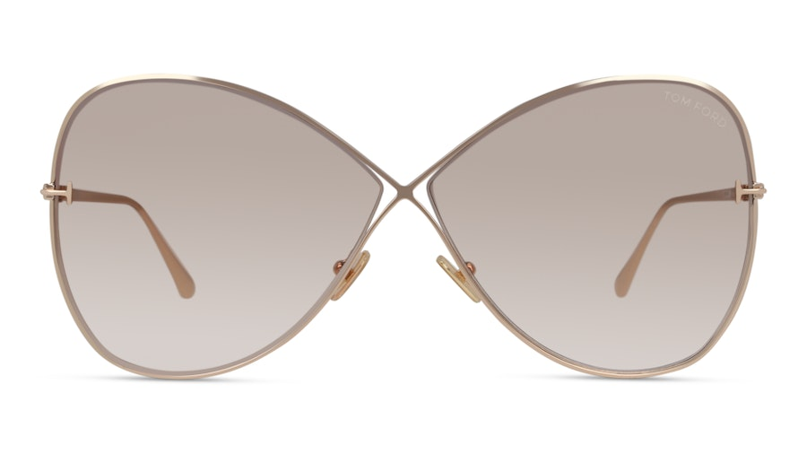 Tom Ford FT0842 28F Marrone/Oro
