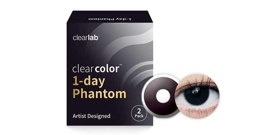 Clearcolor 1-Day Phantom Black Out