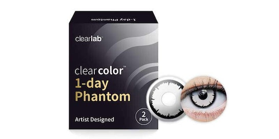 Clearcolor 1-Day Phantom Angelic White