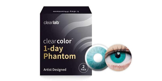 Clearcolor 1-Day Phantom Blue Walker