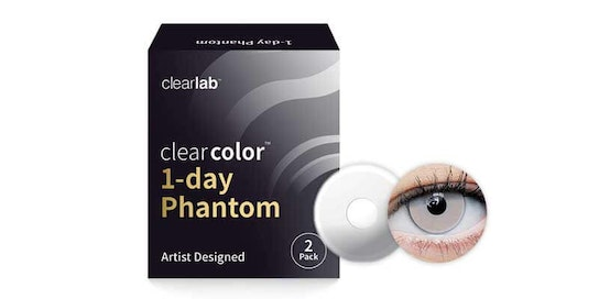 Clearcolor 1-Day Phantom White Out